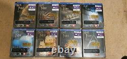 Harry Potter Complete 8-Film Steelbook Collection BRAND NEW