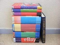 Harry Potter Complete ALL HARDBACKS Book Set 1-7 Bloomsbury & Fantastic Beasts
