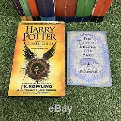 Harry Potter Complete ALL HARDBACKS Book Set 1-7 Bloomsbury JK Rowling & Extras
