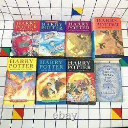 Harry Potter Complete ALL HARDBACKS Book Set 1-7 & Extra Bloomsbury JK Rowling