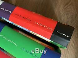 Harry Potter Complete ALL Hardbacks Book Set- 1-7- J. K Rowling- Fantastic Beasts
