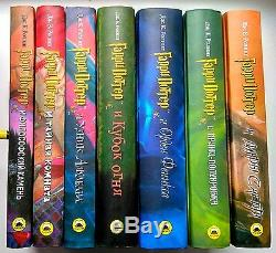 Harry Potter Complete Book Series J. K. Rowling 7 NEW Russian
