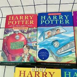 Harry Potter Complete Book Set 1-7 All Hardback 1st Edition Bloomsbury Rowling