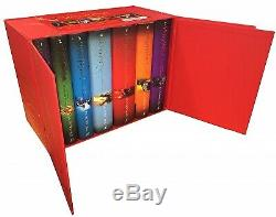 Harry Potter Complete Collection 7 Books Set Collection J. K. Rowling Hardback Red