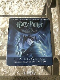 Harry Potter Complete Collection Audio CD Set Books 1 7 JK Rowling & Jim Dale