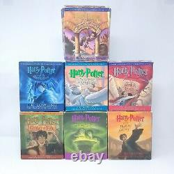 Harry Potter Complete Collection Audiobooks CD Set Books 1 7