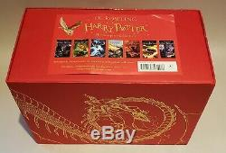 Harry Potter Complete Collection Limited Edition Hardcover All 7 Books Box Set