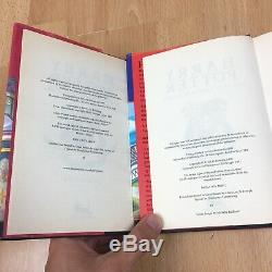 Harry Potter Complete Full Set HARDBACK Bloomsbury Book Set Rowling 1st Ed