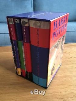 Harry Potter Complete Hardback Book Set First Edition Bloomsbury Dust Jackets