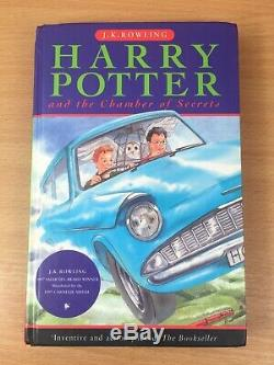 Harry Potter Complete Hardback Book Set with First Editions & extras