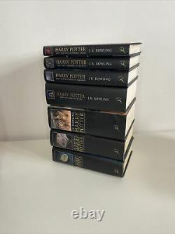 Harry Potter Complete Hardback Collection Adult Edition. Full Set books 1-7