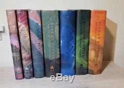 Harry Potter Complete Hardcover Book Set 1-7 Rowling 1st Edition 1st Printing HC