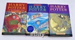 Harry Potter Complete Hardcover Set Books 1-7 Bloomsbury Raincoast JK Rowling
