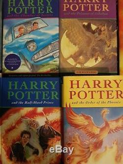 Harry Potter Complete Set ALL HARDBACKS Books 1-7 Bloomsbury JK Rowling + More