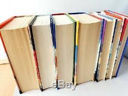 Harry Potter Complete Set Hardback Book Bundle Books 1-7 J. K. Rowling
