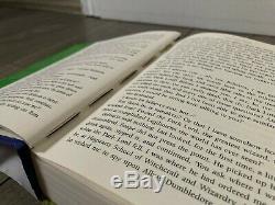 Harry Potter Complete Set Lot of 7 Hardcover Books Bloomsbury 1 2 3 4 5 6 7 DJ