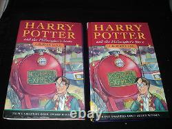 Harry Potter Complete Set Of 7 Hardback Bloomsbury 1st Edition Books