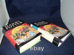 Harry Potter Complete Set Of 7 Hardback Bloomsbury Edition Books