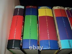Harry Potter Complete Set Of 7 Hardback Bloomsbury & Ted Smart Books Set 2