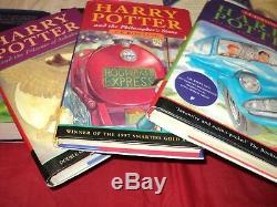 Harry Potter Complete Set Of 7 Hardback Bloomsbury & Ted Smart Set 3