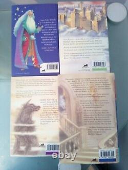 Harry Potter Complete UK Bloomsbury 1st Edition Hardback Book Set of 7