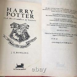 Harry Potter Complete UK Bloomsbury First Edition Full Set of 7 Hardback Books