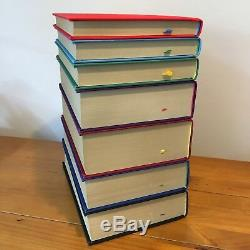 Harry Potter Deluxe Edition UK Bloomsbury Complete Set Hardback Books RARE LOGO