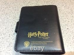 Harry Potter GRINGOTTS COIN COLLECTION SAVINGS BOOK Complete Set BLANK NAME PAGE