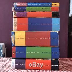 Harry Potter Hardback Complete Set X7 Bundle First Editions Various Prints