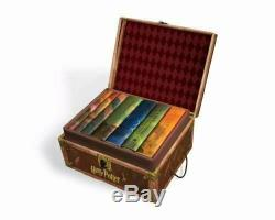 Harry Potter Hardcover Complete Collection Box Set by J. K. Rowling (English) Box