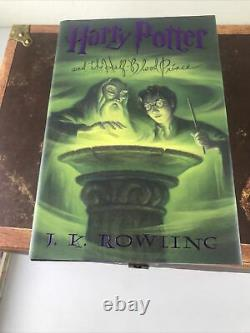 Harry Potter Hardcover Complete Collection Boxed Set Books 1-7 in Chest