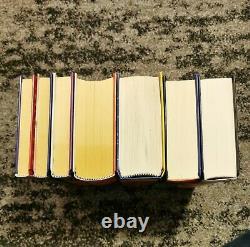 Harry Potter Hardcover Complete Set Books 1 7 (Raincoast / Bloomsbury)