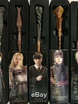Harry Potter Mystery Wands Wand Series 1 Complete Set with Original Boxes Mint