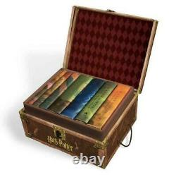 Harry Potter NEW 7 HARDCOVER Books Complete Series Collection Box Set Lot Gift
