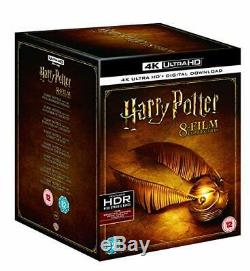 Harry Potter The Complete Collection 4k Uhd+downloads New & Sealed