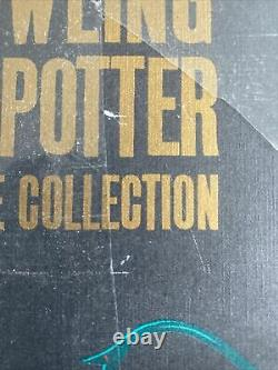 Harry Potter The Complete Collection 7 Hardback Boxed Adult Books J. K. Rowling