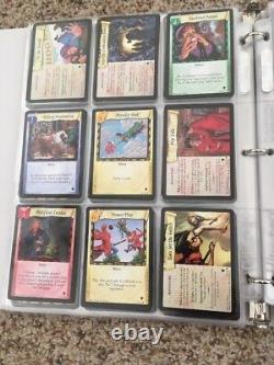 Harry Potter Trading Cards Quidditch COMPLETE Non Foil Set TCG CCG