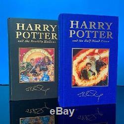 Harry Potter UK Deluxe Edition Bloomsbury Complete Set Hardback Books Unread