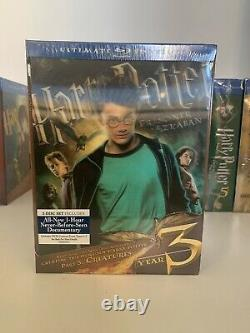 Harry Potter Ultimate Edition Full Complete Blu-ray Set OOP Brand New