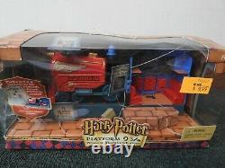 Harry Potter World of Hogwarts Complete Playsets SET of 4 NRFB Mattel