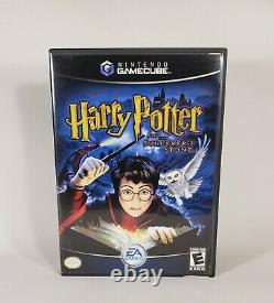 Harry Potter and the Sorcerer's Stone (Nintendo GameCube, 2003) Complete CIB NM