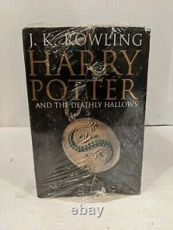 Harry Potter complete series UK Adult Edition hardcover boxset Rare PLEASE READ