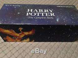 Harry Potter complete story read by Stephen Fry