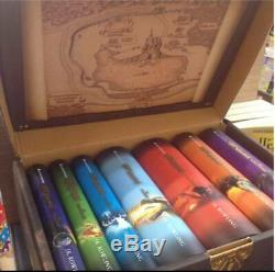Harry potter book hardcover complete collection box set Thai edition