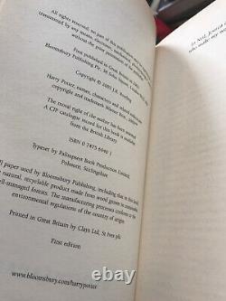 Harry potter complete Adult Hardback Book Set 1-7 1st editions 1st prints