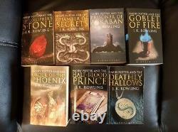 Harry potter complete Adult paperback 1st editions 1st prints