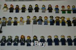 Huge LEGO Lot Of 170+ Minifigures City, Castle, Complete Figures + Accessories