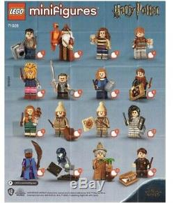 IN HAND Lego 71028 Harry Potter Series 2 Minifigures Complete Set of 16 Sealed