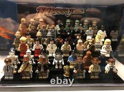 Indiana Jones Complete Lego Mini figs Collection All 47