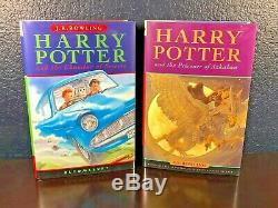 JK Rowling HARRY POTTER Complete Series HC Bloomsbury 1st 2 3 4 5 6 7 UK Edition